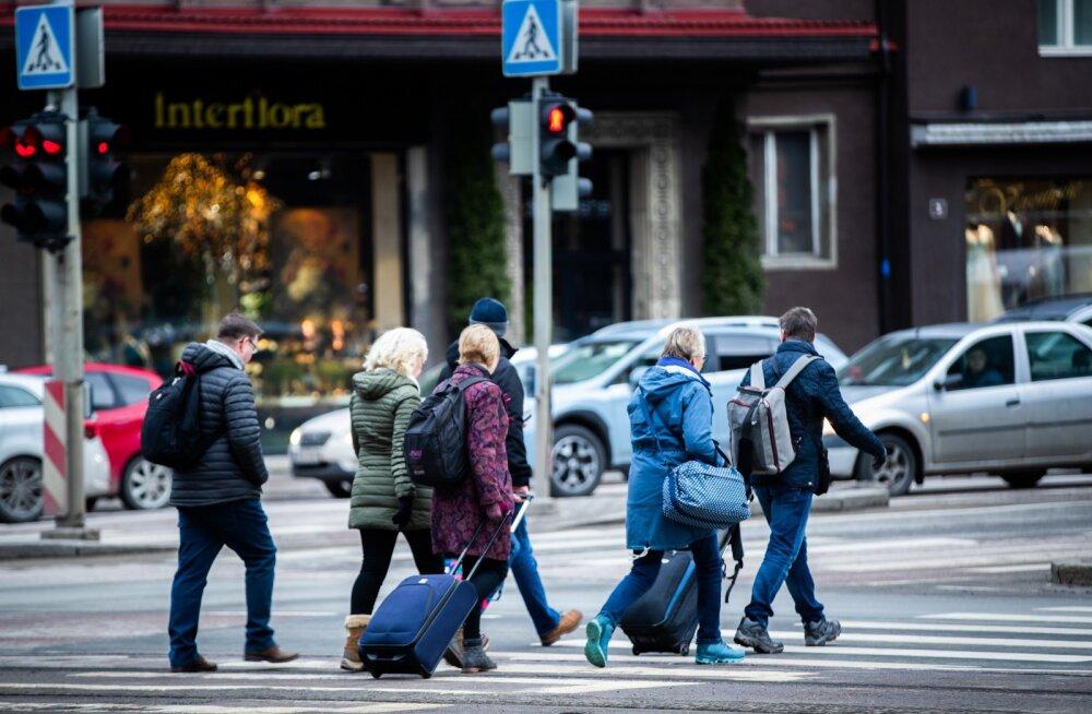 Turistid Tallinnas