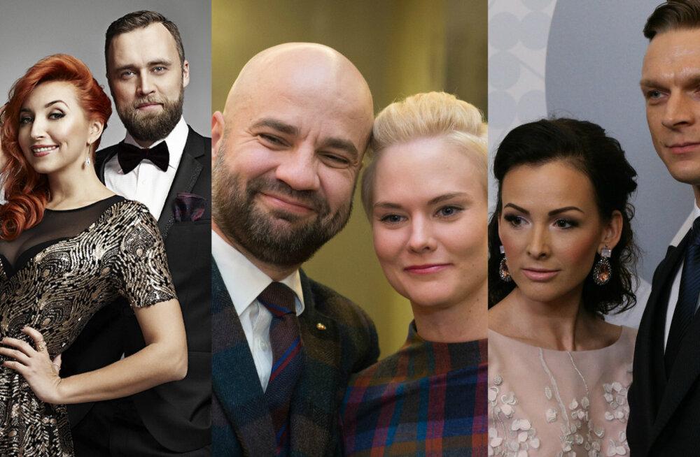 HÄÄLETA: Võigemastid troonilt tõugatud! Kes neist tuntud pikaajalistest paaridest väärib Eesti pauerpaari tiitlit?