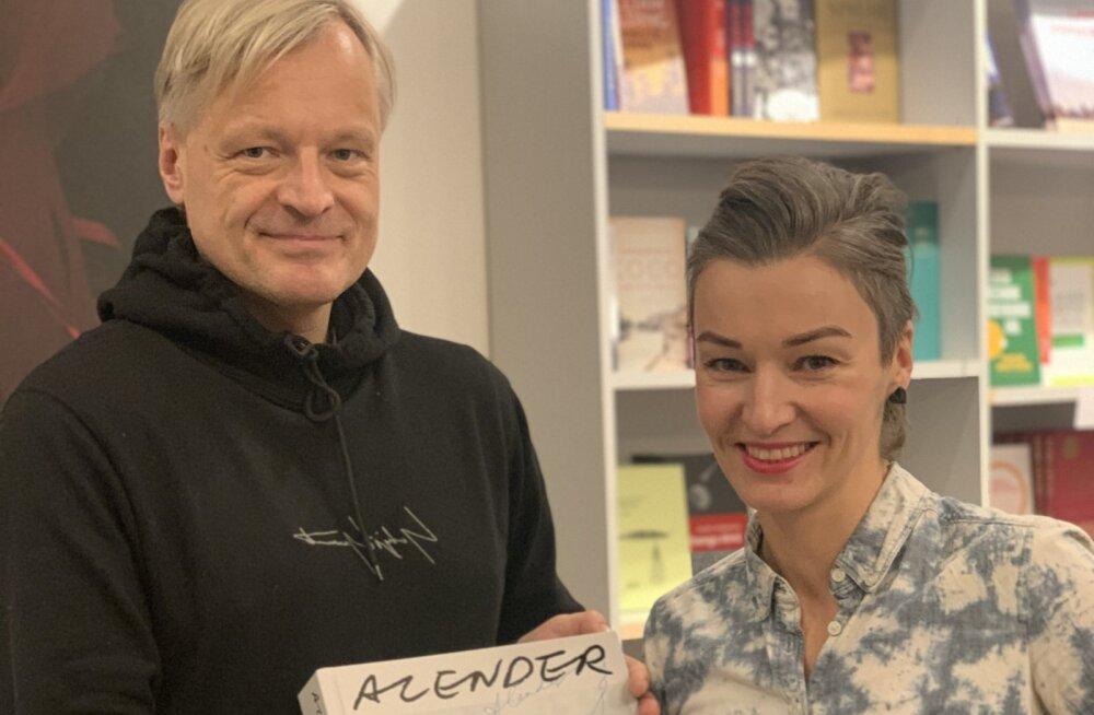 """Täna ilmus Urmas Alenderi raamat """"ALENDER"""", mis on suurelt elatud elu suur testament"""