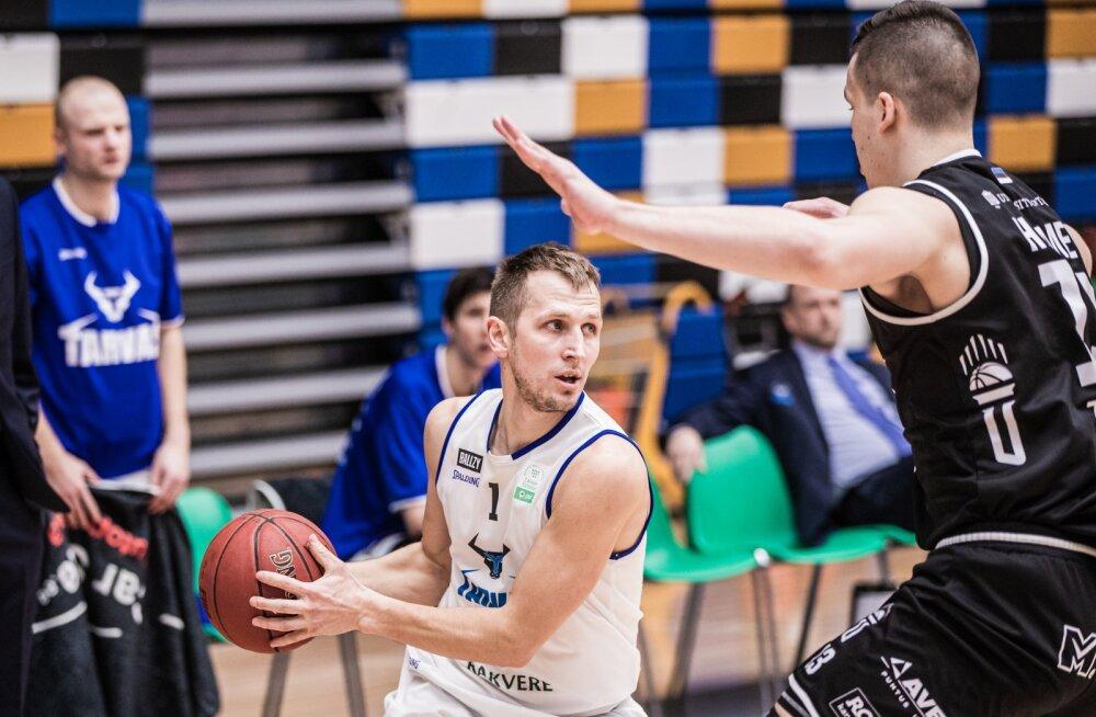 Korvpall Tartu Ülikool vs Rakvere Tarvas 04.03.20