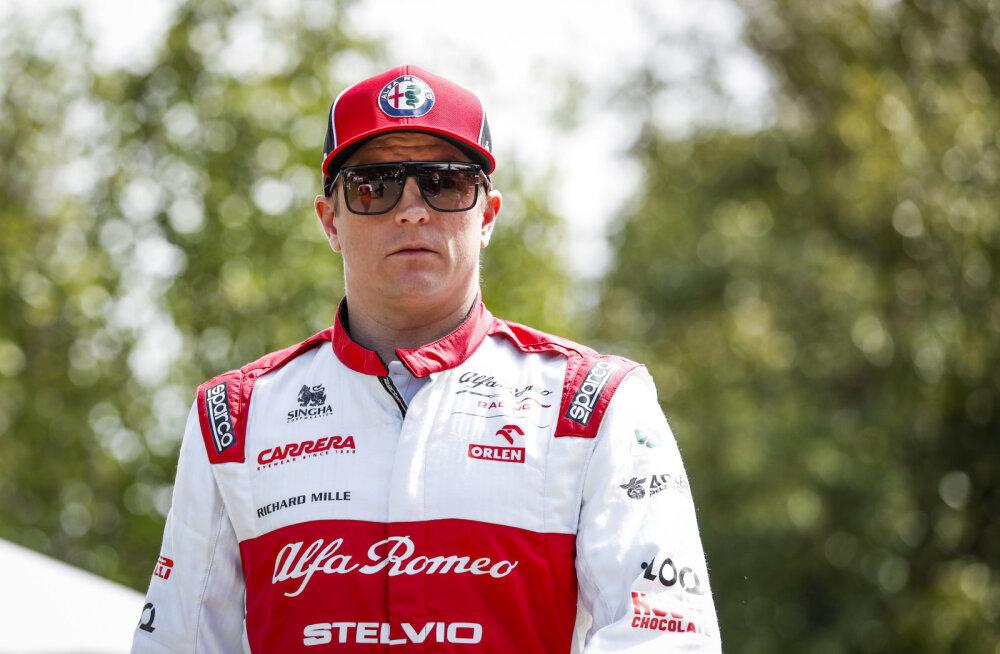 FOTOD | Kimi Räikkönen teeb trenni Helsingi batuudikeskuses, mis peaks eriolukorras suletud olema