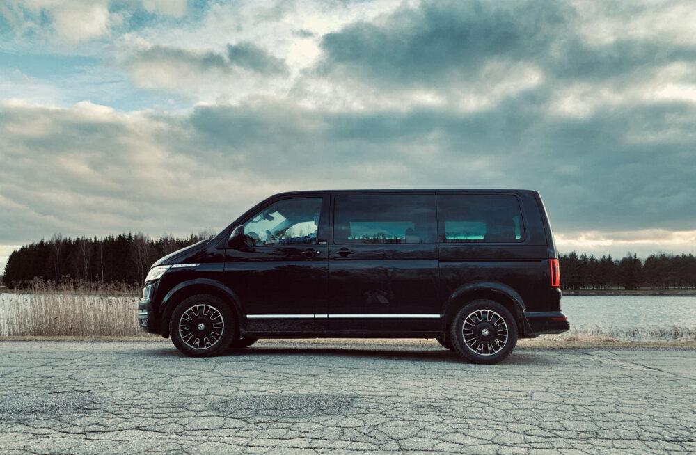 Volkswagen Multivan 6.1 – kiiksudest hoolimata mugav ja praktiline