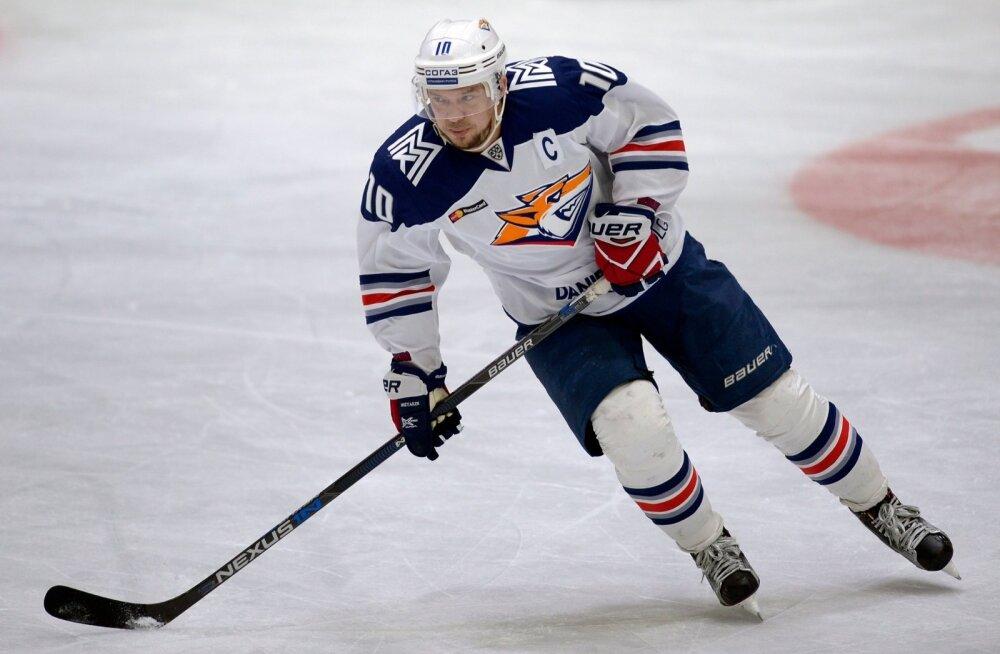 Magnitogorski Metallurgi kapten Sergei Mozjakin