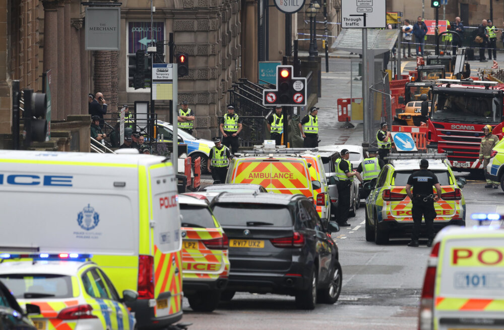 Нападение с ножом в центре Глазго: нападавший застрелен, полиция не нашла признаков теракта