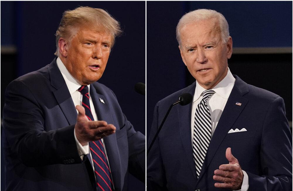 Trumpi ja Bideni debatil lülitatakse mikrofonid vahelesegamise vältimiseks teatud ajaks välja