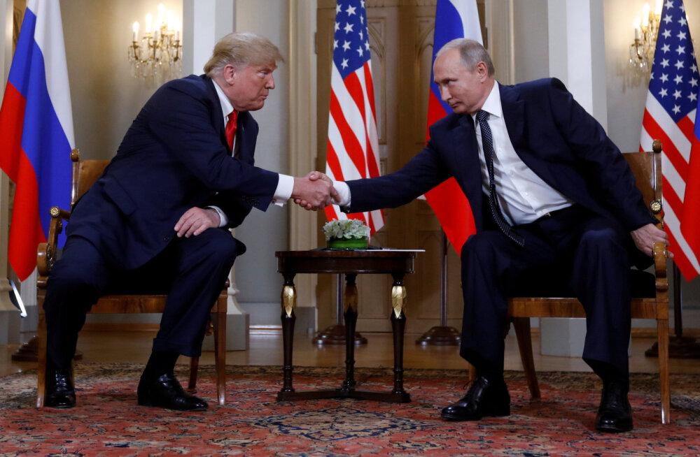 Trump kohtub homme G20 kohtumise kõrvalt Vladimir Putiniga