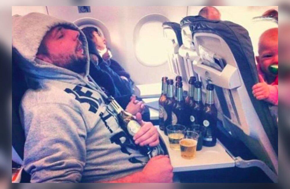 JUBEDAD FOTOD | Inimesed jagavad klõpse vastikutest kaasreisijatest lennukis, kes ajavad ära igasuguse reisituju