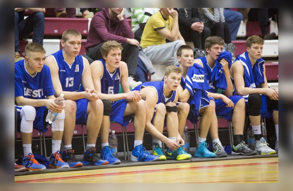Korvpall U18 Eesti-Soome