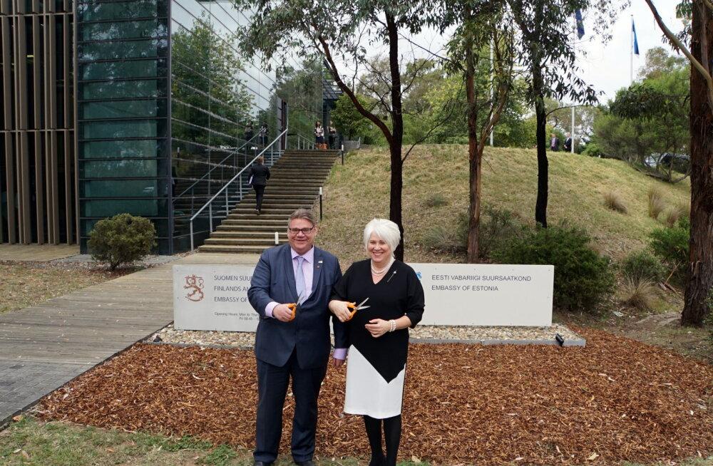 FOTO: Välisminister Kaljurand avas esimese Eesti saatkonna Austraalias