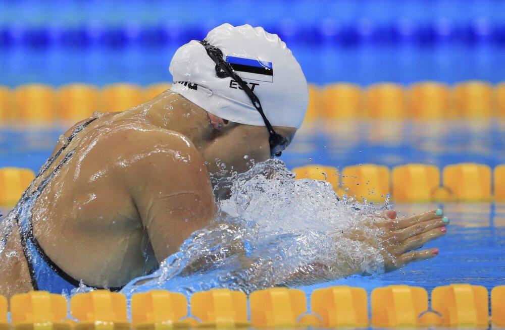 Olümpial Eesti rekordit korranud Maria Romanjuk sai intervjuutsoonis ilusa üllatuse