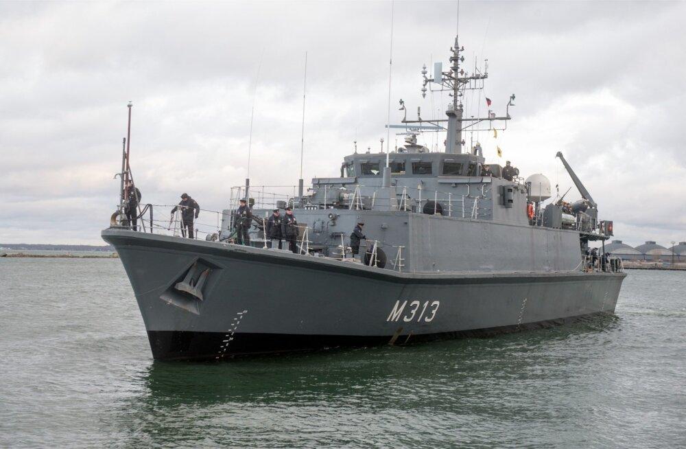 Admiral Cowan on üks ligi kümme aastat tagasi Suurbritanniast ostetud miinijahtijatest.