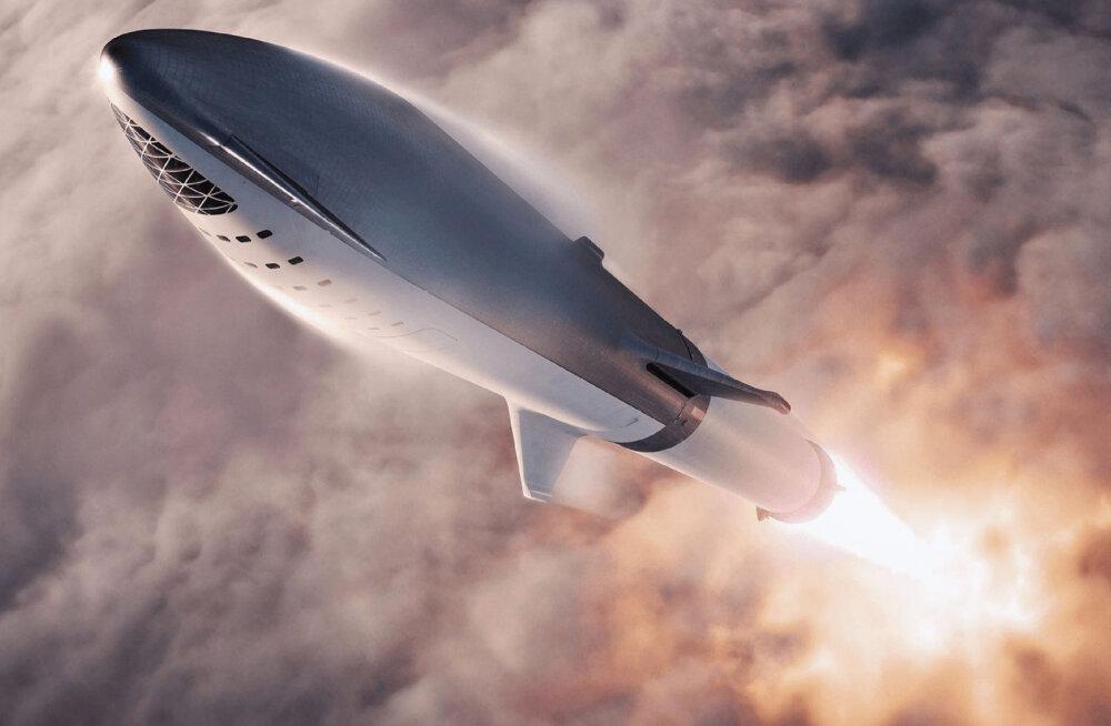 Elon Musk ehitab oma hiigelraketi roostevabast terasest: selleks on mitu head põhjust