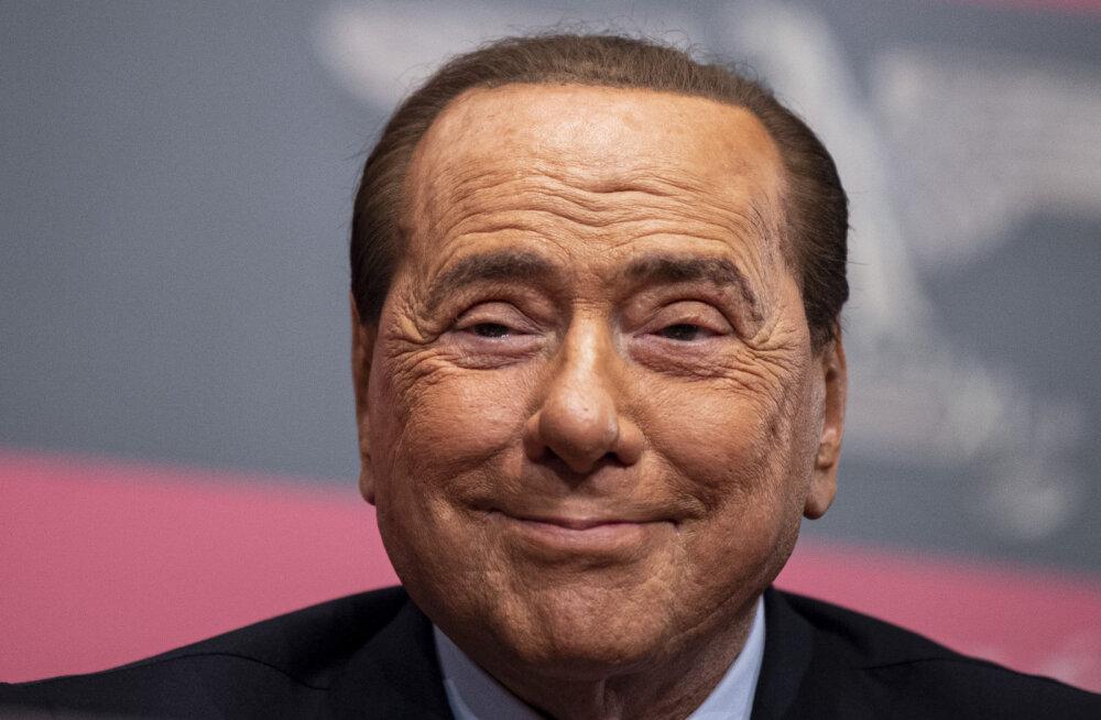 Itaalia endine peaminister Berlusconi vahetas senise kallima endast 54 aastat noorema vastu