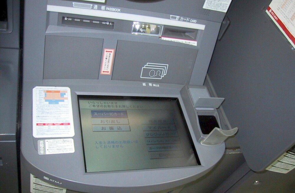 Häkkerid varastasid rahaautomaatidest lühikese ajaga 11,3 miljonit eurot!