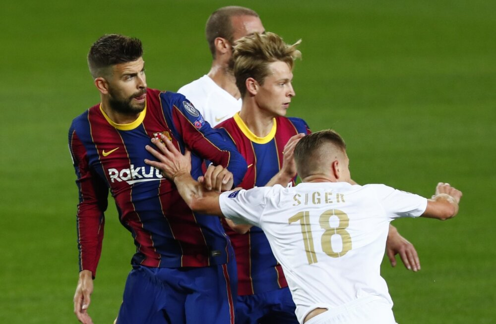 Barcelona pikendas nelja võtmemängijaga lepingut, Messit nende hulgas polnud