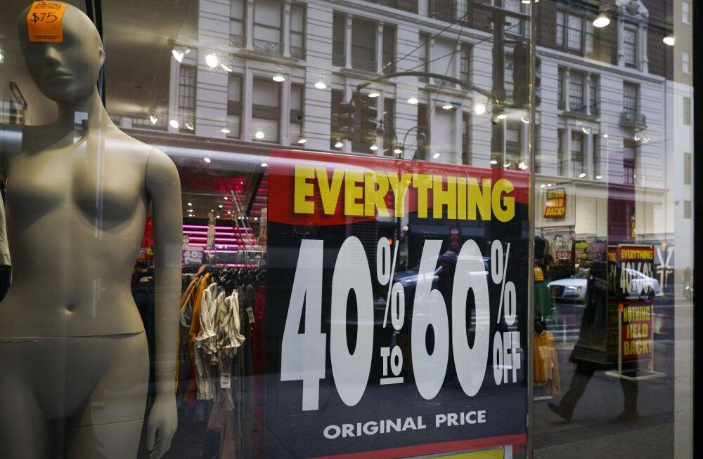 Kaubamajad tühjenevad rekordkiirusel: tuntud USA poeketid sulgevad sel aastal pea 5000 poodi