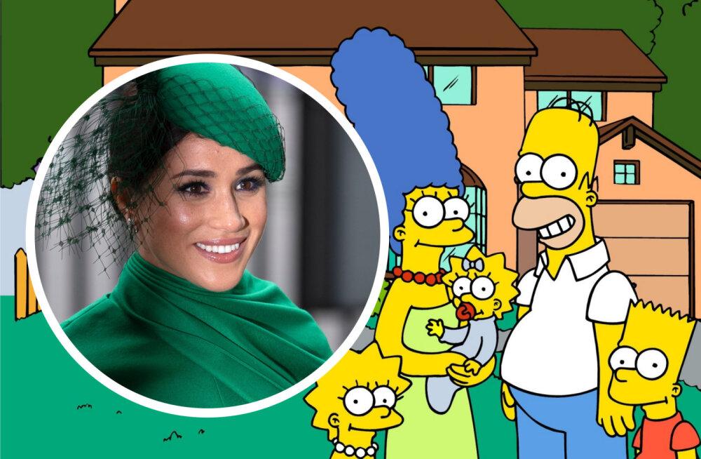 """Meghan Markle'ile pakuti rolli """"Simpsonites"""": me oleme seda arutanud"""