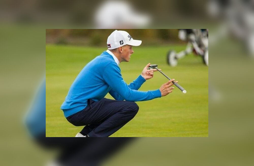 Eesti elukutseline golfar sai ainulaadse võistluskogemuse
