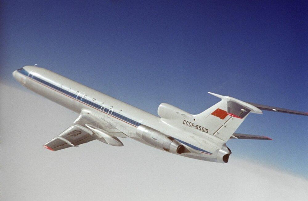 20 ohvriterohkemat katastroofi Tu-154 marki lennukitega