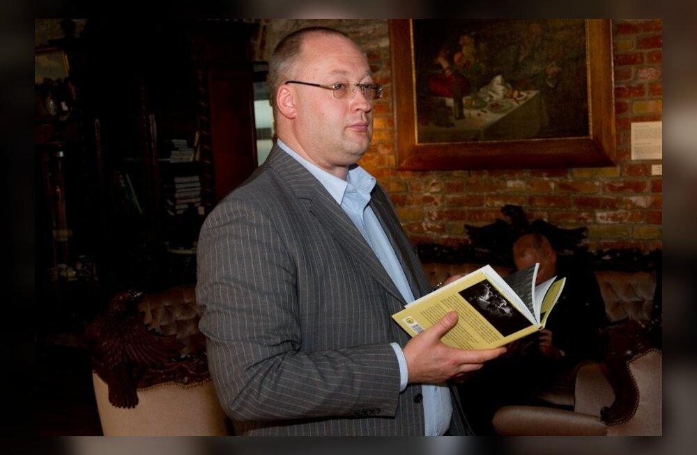 Kalle Klandordi raamatu esitlus US galeriis