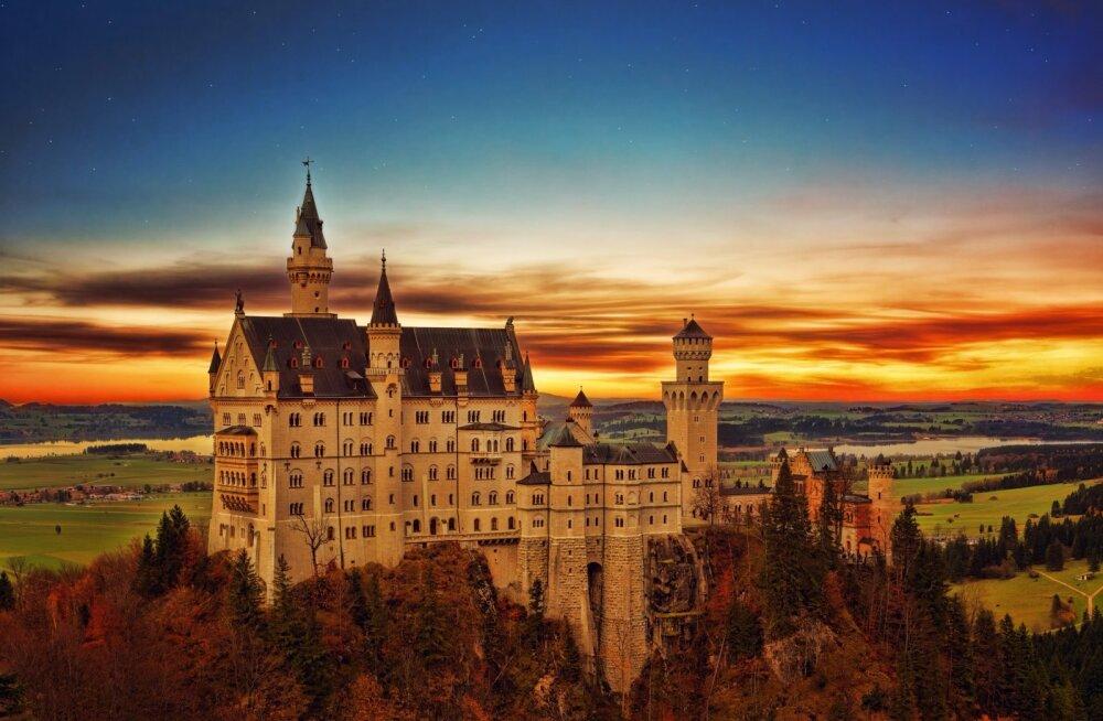FOTOD | Muinasjutulised Euroopa lossid, mida tasub kindlasti elu jooksul külastada