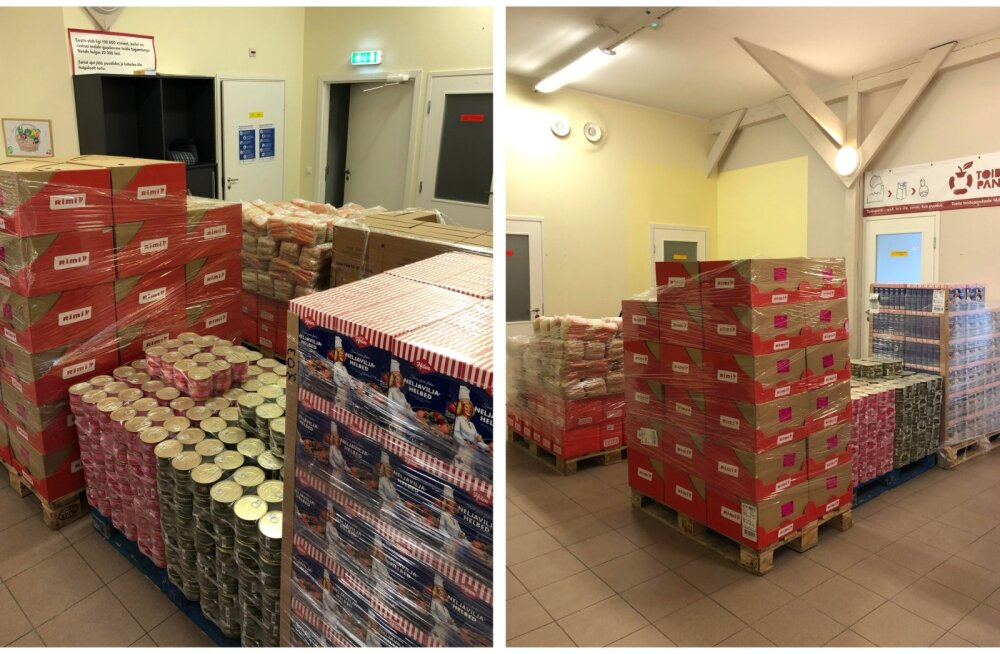 Rimi erakorraline annetus Toidupangale toidab 1600 Eesti peret.
