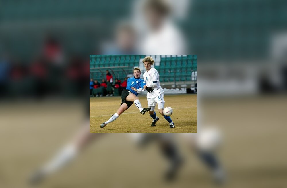 Eesti - Slovakkia jalgpalli MM-valikmäng