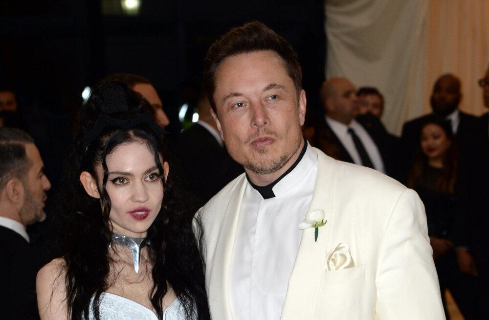 Lapsele veidra nime pannud Grimes ja Elon Musk avaldasid, kuidas nad poega tegelikult kutsuvad