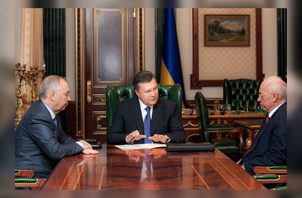 Ukraina ametlikud väljaanded avaldasid protestid esile kutsunud seadused, osa jõustub järgmisel päeval