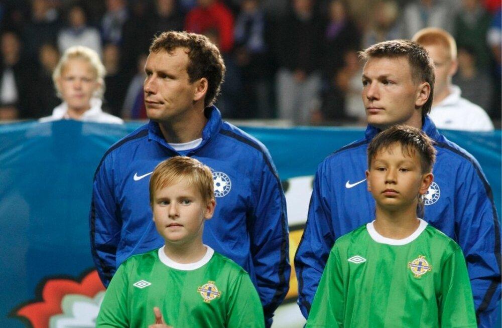 Сборная Эстонии входит в ТОП-10 самых возрастных команд Европы