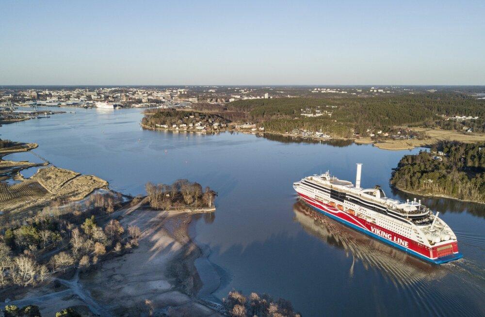 Läänemeri on Viking Line'i südmeasi