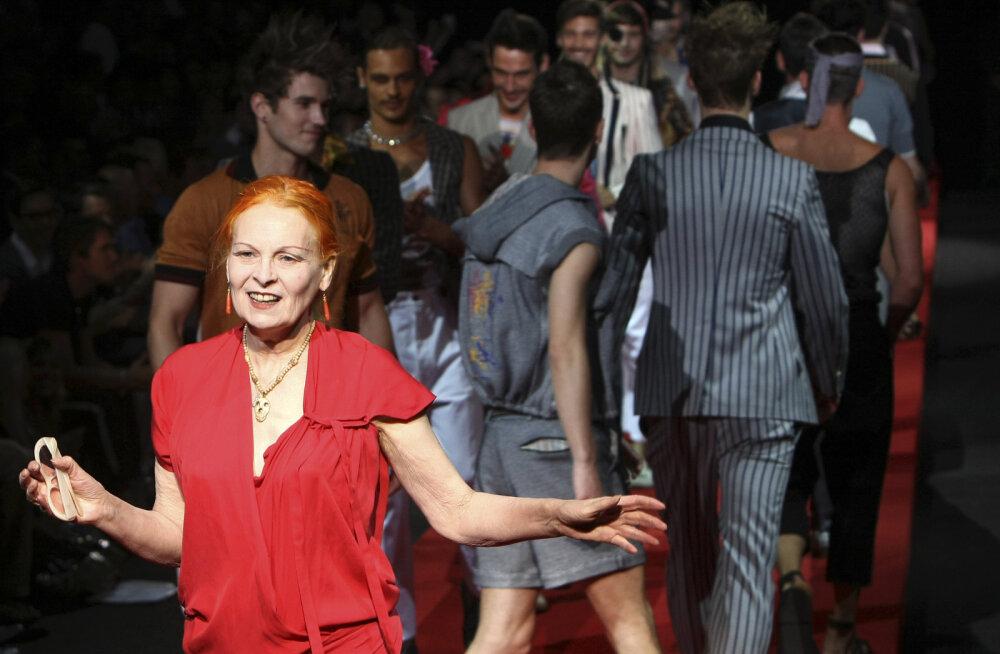 """Moemaailma mässaja Vivienne Westwoodi elu: krutskeid täis juhtumised aluspesuga ning Tema Majesteedi """"pühaduse rüvetamine"""""""