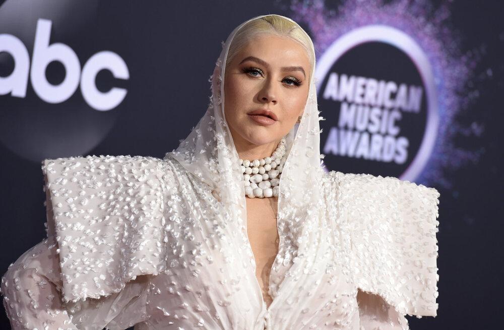 KLÕPS | Emasse? Christina Aguilera jagas armsat pilti oma 12-aastase pojaga
