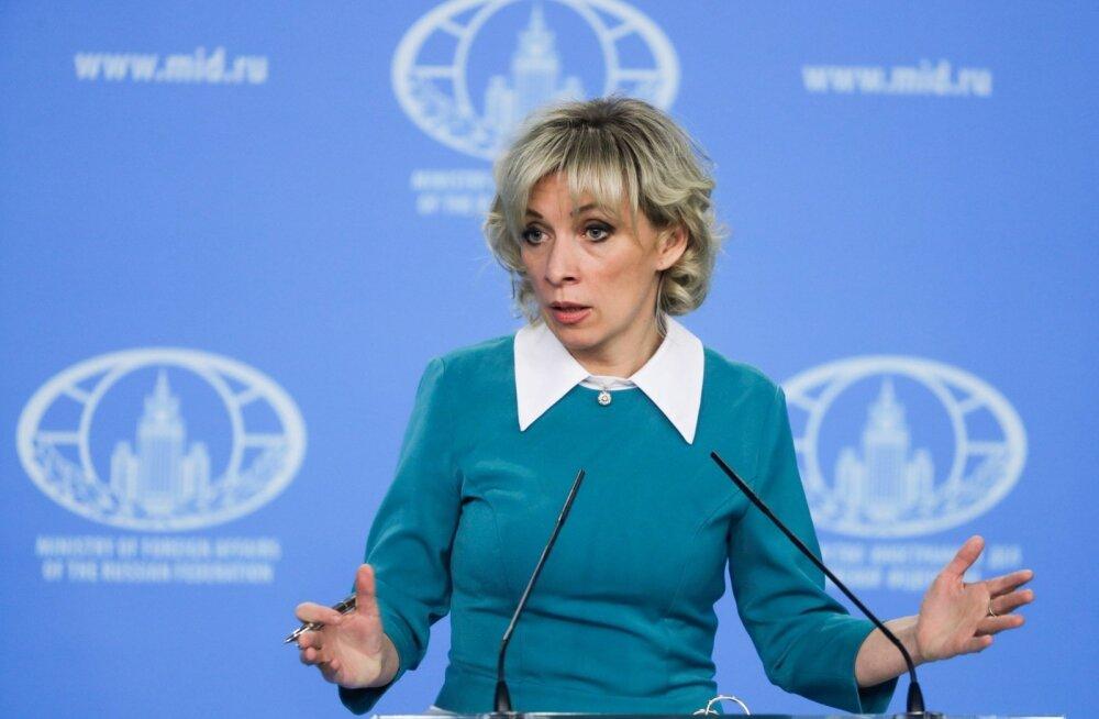 """Venemaa välisministeerium kuulutas, et Venezuela opositsioonile USA relvade toimetamises on """"Ukraina jälg"""""""