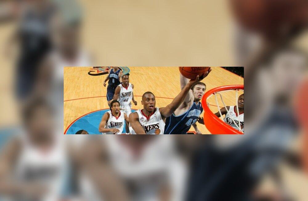 Philadelphia 76ersi ja Utah Jazzi mäng NBA-s