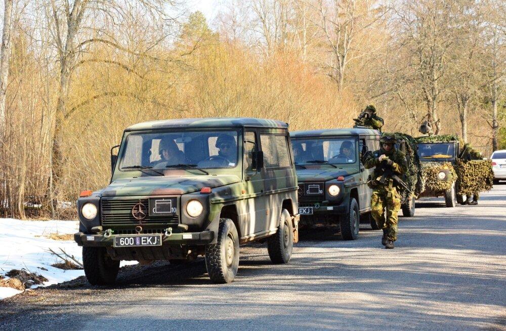 Kaitseväe õppus Viljandimaal