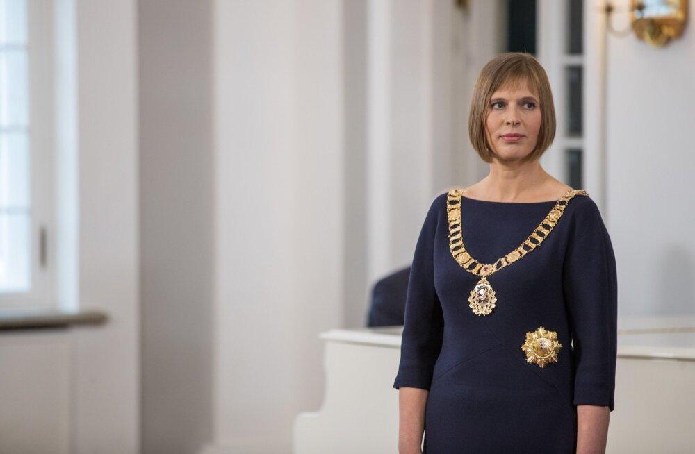 Kersti Kaljulaid langetab Veljo Tormise mälestuse ees pea: meie kohus on hoida ja säilitada tema pärandit