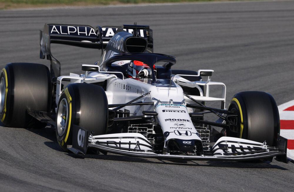 AlphaTauri mehitab Austria GP ajaks stardivalmis varumeestepingi