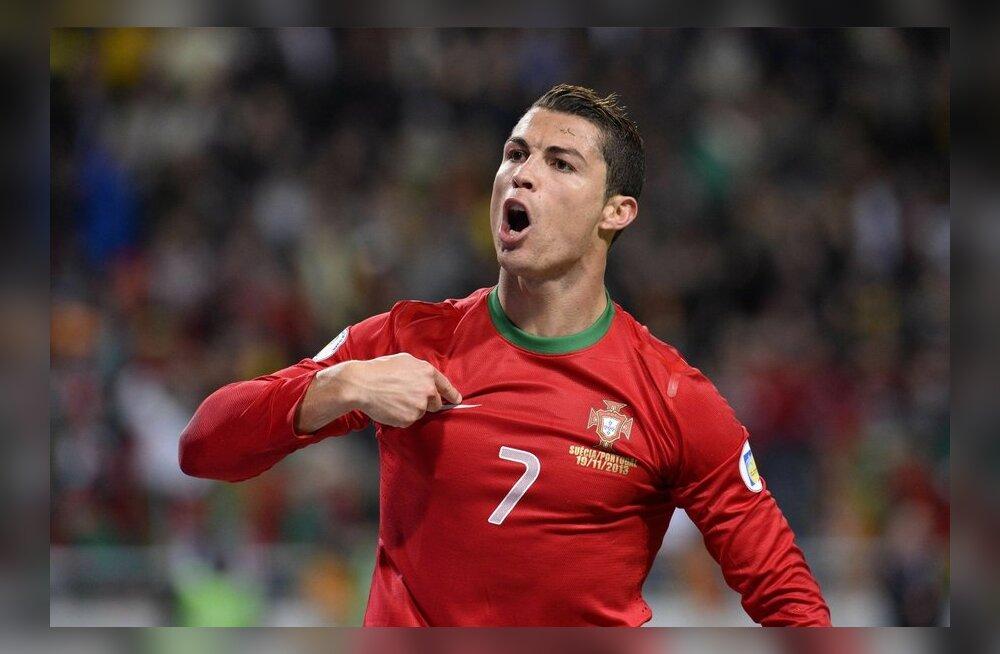 FOTOD: Play-off'idest pääsesid 2014 jalgpalli MM-ile Kreeka, Horvaatia, Portugal ja Prantsusmaa