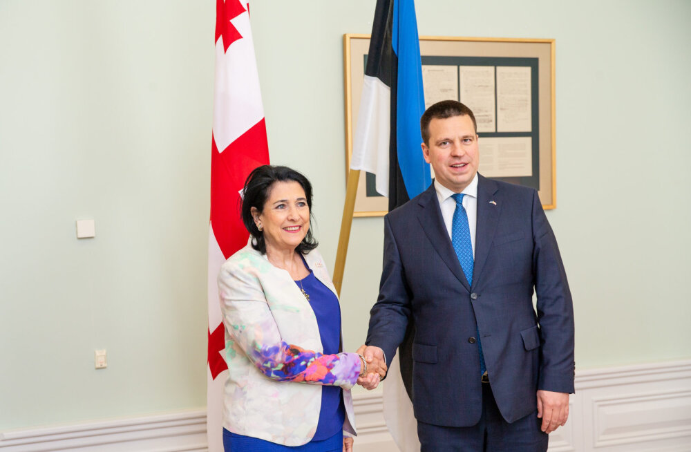 Ратас: Эстония поддерживает Грузию на пути в Европейский союз и НАТО