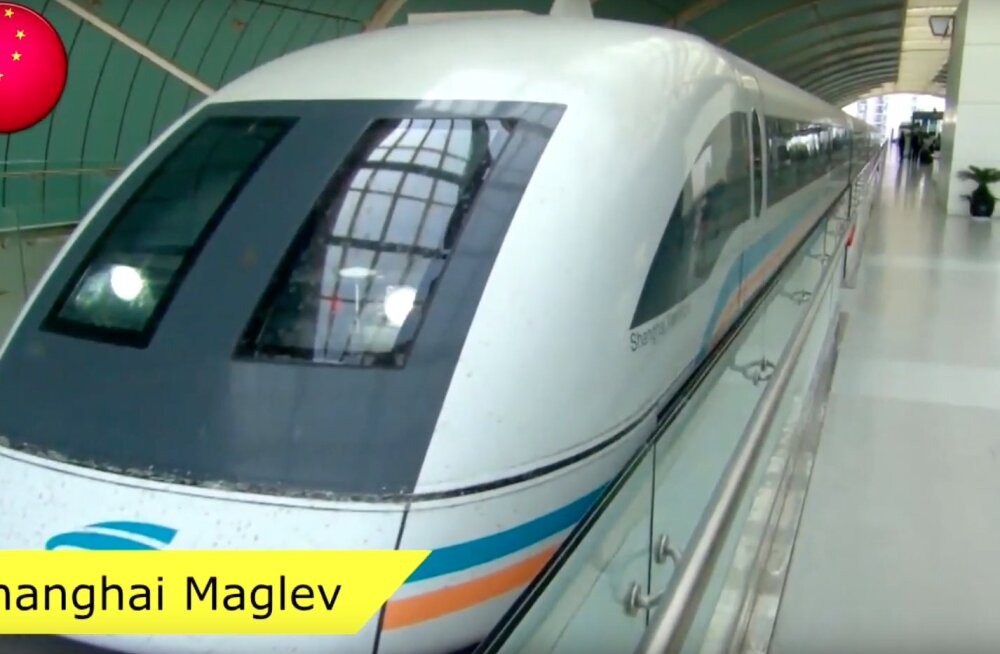 VIDEO | Vaata ruttu, need on 10 maailma kõige kiiremat rongi aastal 2020!