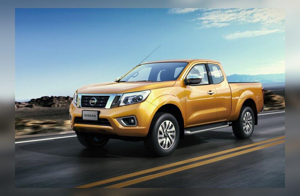 Nissan avaldas uue põlvkonna Navara kastiauto