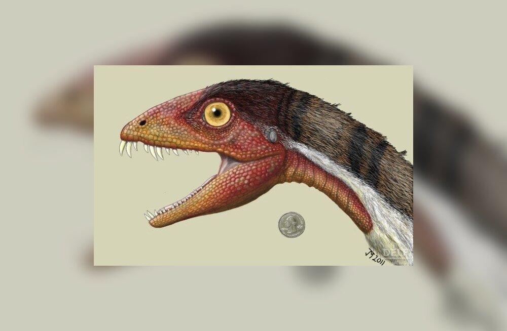 Daemonosauruse kujutis kunstniku nägemuses. Foto Jeffrey Martz, AP