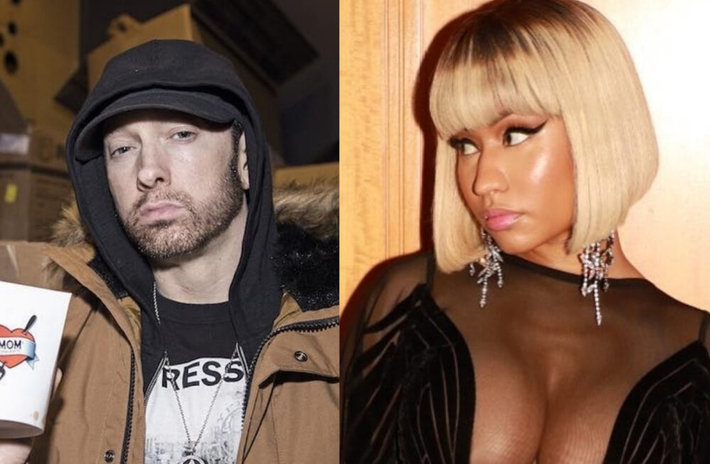 Uus superpaar? Eminem vastab kõlakatele, et ta on Nicki Minajiga leivad ühte kappi pannud