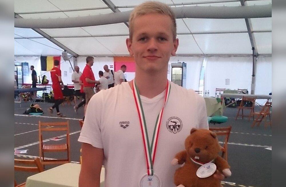 Kregor Zirk juunioride EM-i medaliga