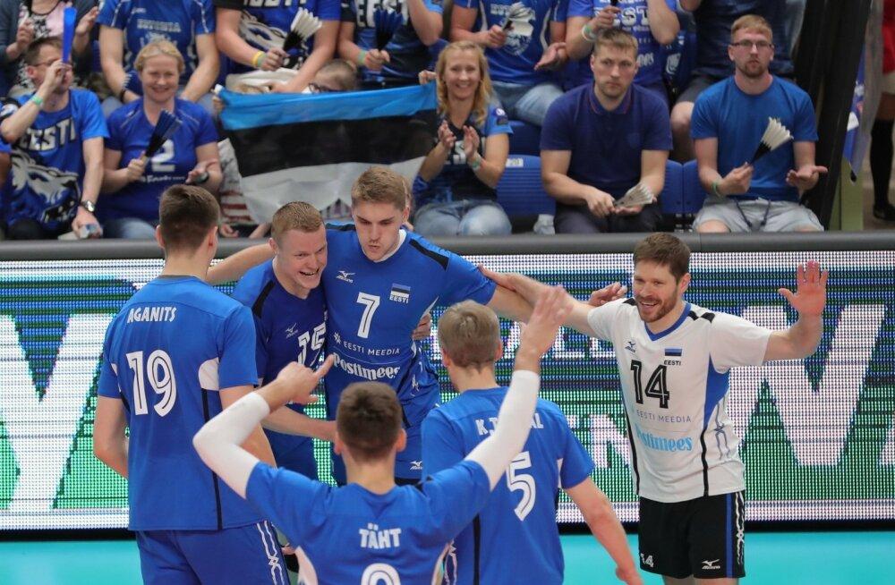 VIDEO: Rait Rikberg: hetkel läheb see saavutus mu karjääris esikohale. Eesti võrkpall on kõva!