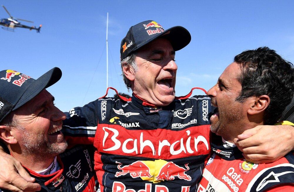 Maailma parimaks rallisõitjaks valitud Carlos Sainz: mõlemal Sebastienil on minust rohkem tiitleid, kuid sõidus saab olla ainult üks võitja