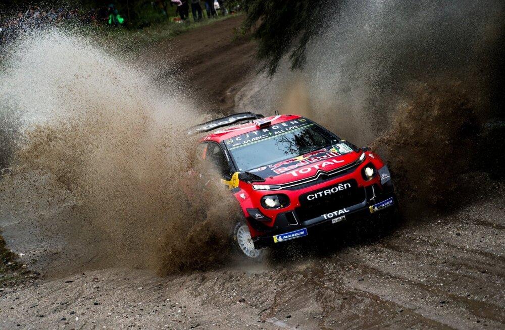 Citroen ootab Esapekka Lappilt palju. Senisest viiest etapist on ta õnnestunud ainult Rootsis.