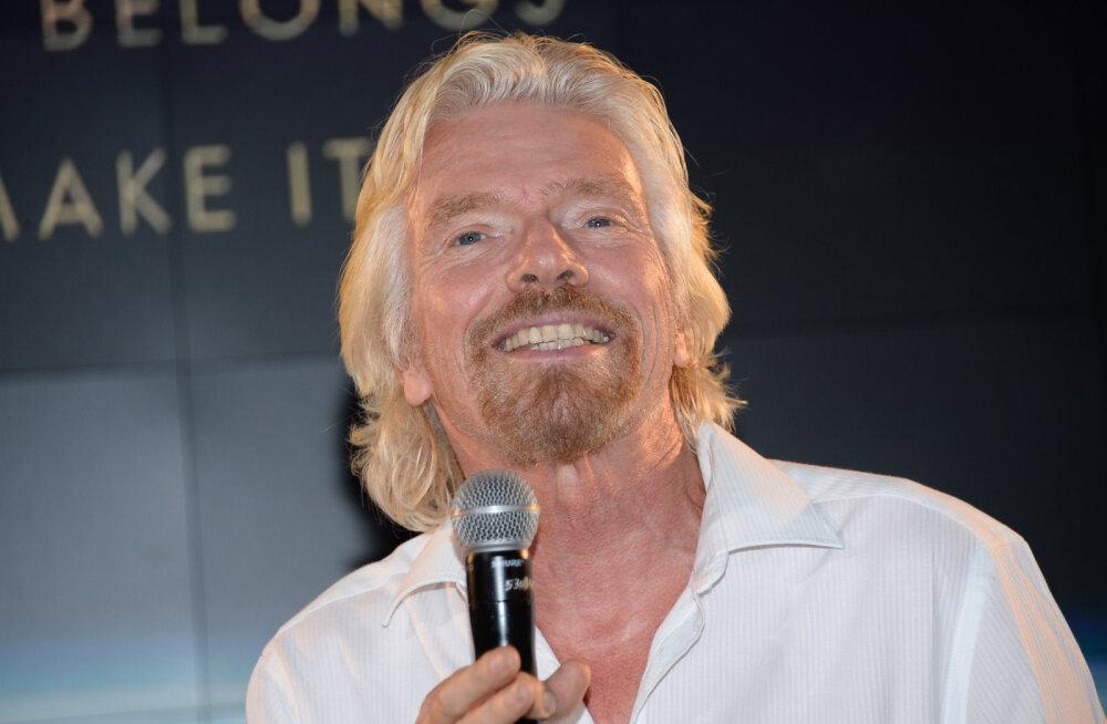 Richard Bransoni kümme lemmiktsitaati positiivsest ellusuhtumisest