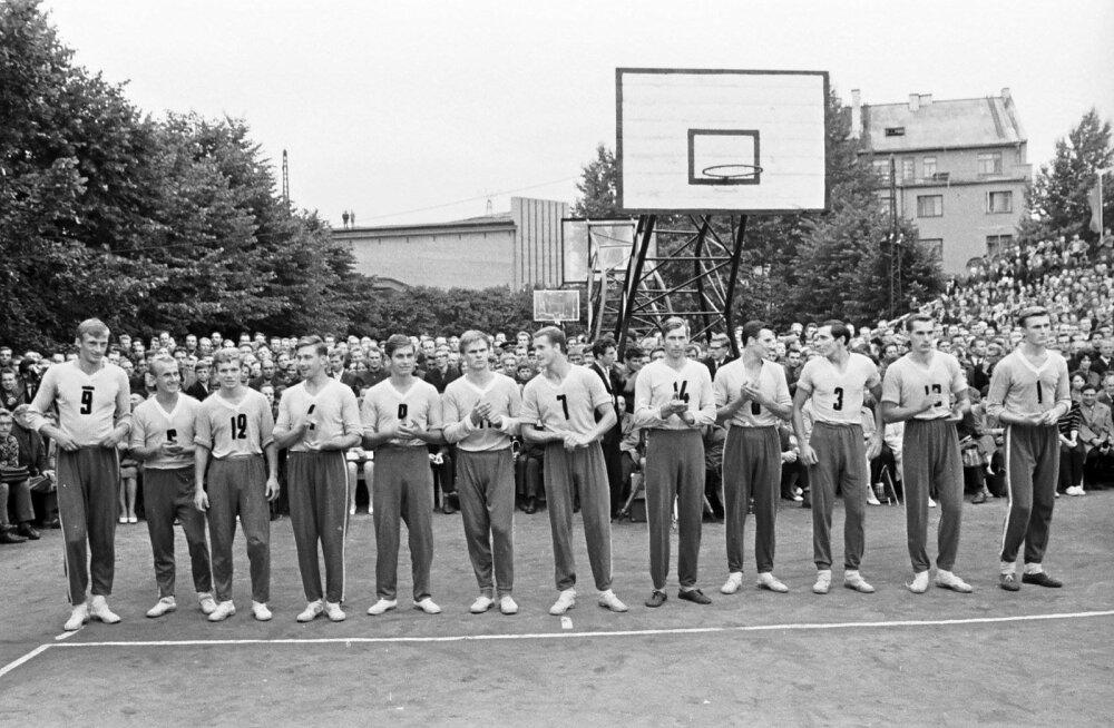 Võrkpall - Tallinna Kalev 1968 a.